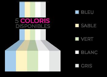 les 5 couleurs des piscines coque