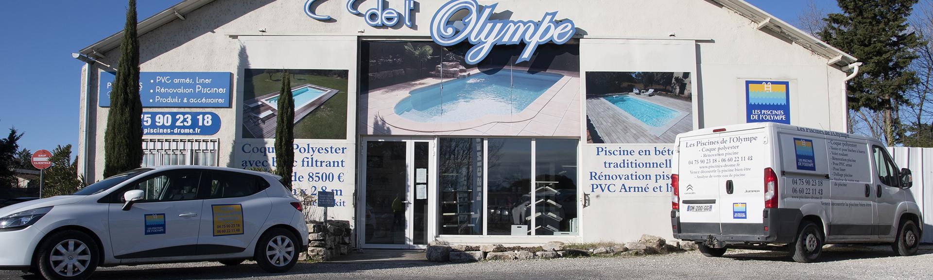 Les piscines de l'Olympe à Montélimar